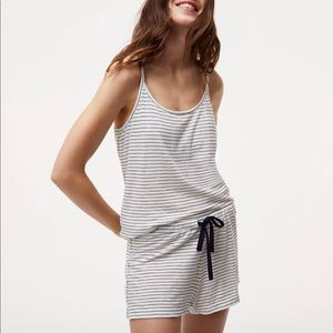 Other - LOFT Striped Cami Pajama Set